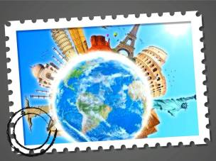World Monuments stamp